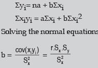 Correlation And Regression (Part - 2) CA Foundation Notes | EduRev