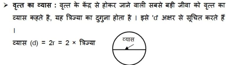 नोट्स, पाठ - 12 वृत्तों से संबंधित क्षेत्रफल (कक्षा दसवीं) गणित Class 10 Notes | EduRev