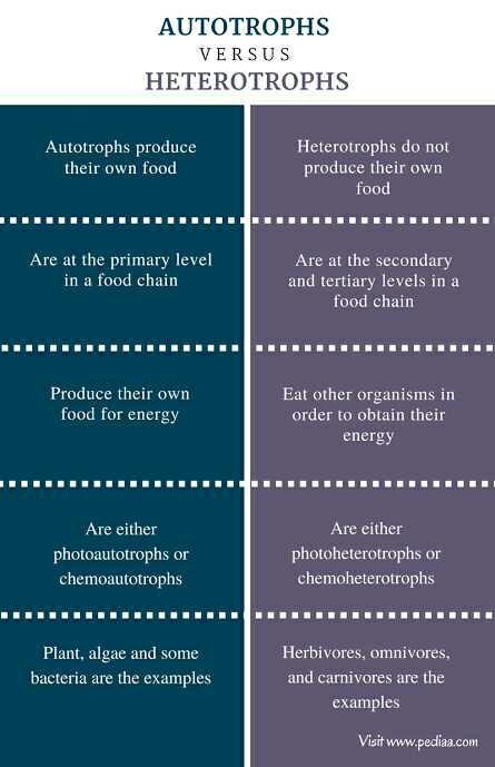 Write Difference Between Autotrophic Nutrition And Heterotrophic Nutrition Edurev Class 10 Question