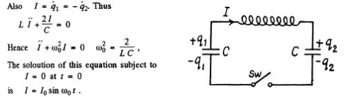 Irodov Solutions: Electric Oscillations- 1 Notes   EduRev