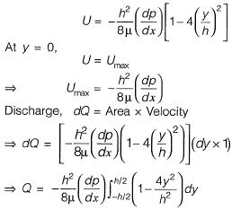 Viscous Flow of incompressible Fluid Civil Engineering (CE) Notes | EduRev