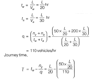 Past Year Questions: Traffic Engineering - 2 Civil Engineering (CE) Notes | EduRev