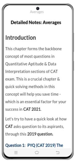 Advice to Aspirants - CAT : Quantitative Aptitude CAT Notes | EduRev