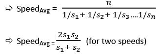 Important Formulae: Speed, Time & Distance CAT Notes | EduRev