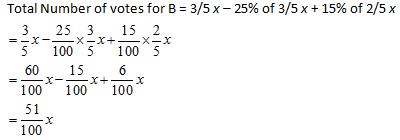 Percentages questions with Answers Quant Notes   EduRev