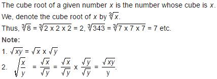 Square Root and Cube Root - Important Formulas, Quantitative Aptitude Quant Notes | EduRev
