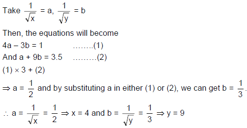 Quadratic Equations - Examples (with Solutions), Algebra, Quantitative Aptitude Quant Notes | EduRev