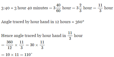 Clocks - Examples (with Solutions), Logical Reasoning LR Notes | EduRev