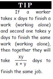 Time and Work - Examples (with Solutions), Arithmetic, Quantitative Aptitude Quant Notes   EduRev