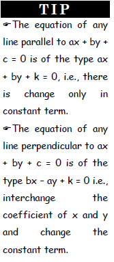 Slope of a Line and Straight Line - Examples (with Solutions), Geometry, Quantitative Reasoning CAT Notes | EduRev