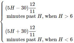 Clocks - Important Formulas; Logical Reasoning LR Notes | EduRev