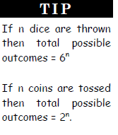 Probability - Examples (with Solutions), Quantitative Aptitude Quant Notes | EduRev