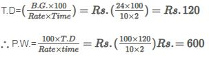 Banker`s Discount - Examples (with Solutions) LR Notes | EduRev