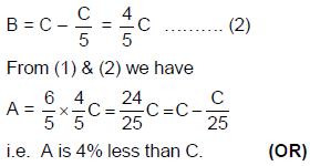 Percentages - Examples (with Solutions), Number Theory, Quantitative Aptitude Quant Notes | EduRev