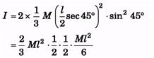 Mechanics of Rotational Motion: JEE Main (Part- 2) - Physics, Solution by DC Pandey NEET Notes | EduRev