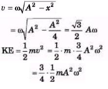 Simple Harmonic Motion (Part - 1) - Physics, Solution by DC Pandey NEET Notes   EduRev