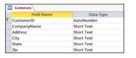 Chapter Notes - Accounting Database for Database Management System Commerce Notes   EduRev