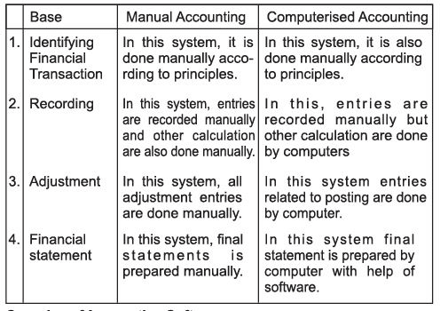 Chapter Notes - Computerised Accounting System Commerce Notes | EduRev