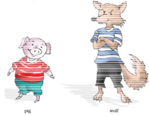 NCERT Solutions - Three Little Pigs Notes | EduRev