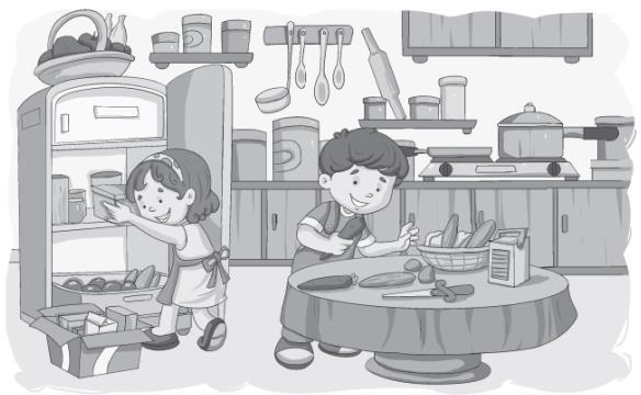 Worksheet 3-Granny, Granny Please Comb My Hair/The Magic Porridge Pot Notes | EduRev