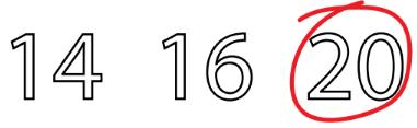 Worksheet 2: Numbers from Ten to Twenty Notes | EduRev