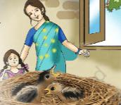 Worksheet 2 - Bird Talk/Nina and the Baby Sparrows Notes | EduRev
