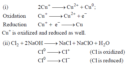 Oxidation And Reduction - Mole Concept Chemistry Notes | EduRev