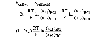 Concentration Cell - Electrochemistry Chemistry Notes | EduRev