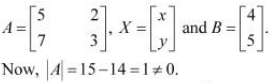NCERT Solutions - Determinants, Exercise 4.6 JEE Notes | EduRev