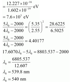 NCERT Solutions (Part - 3) - Structure of Atom Notes | EduRev