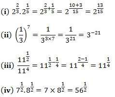 NCERT Solutions Chapter 1 - Number System (II), Class 9