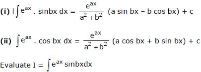 Integration by Parts - Indefinite Integration JEE Notes | EduRev