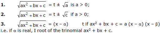 Euler`s Substitutions JEE Notes | EduRev