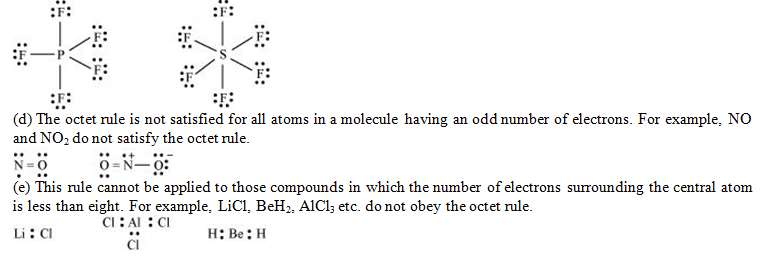 Chemical Bonding, NCERT Solutions, Class 11, Chemistry Class
