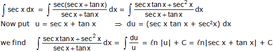 Integration by Substitution JEE Notes   EduRev