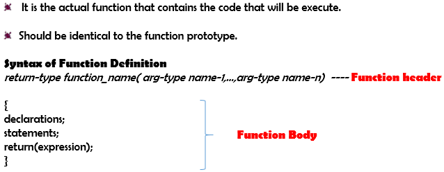 Chapter - Function in C Programming, PPT, Semester