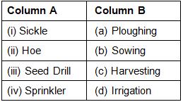 NCERT Exemplar Solutions: Crop Production & Management Class 8 Notes   EduRev