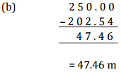 NCERT Solutions(Part - 3) - Decimals Class 6 Notes | EduRev