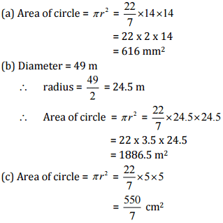 NCERT Solutions(Part - 2) - Perimeter and Area Class 7 Notes | EduRev