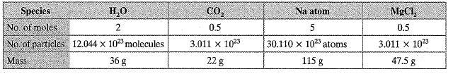NCERT Exemplar - Atoms and Molecules (part-2) Class 9 Notes | EduRev