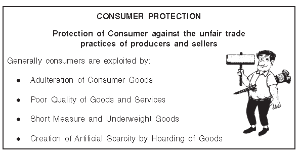 Chapter Notes - Chapter 12 - Consumer Protection, BST, Class 12, CBSE | EduRev Notes
