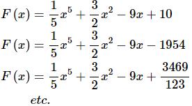 Indefinite Integrals Mathematics Notes | EduRev