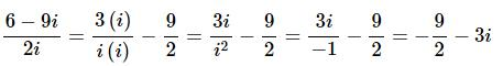 Complex Number With Examples Mathematics Notes | EduRev