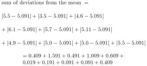 Dispersion - Deviation and Variance to Statistics Mathematics Notes   EduRev