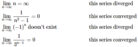 Convergence/Divergence Of Series Mathematics Notes   EduRev