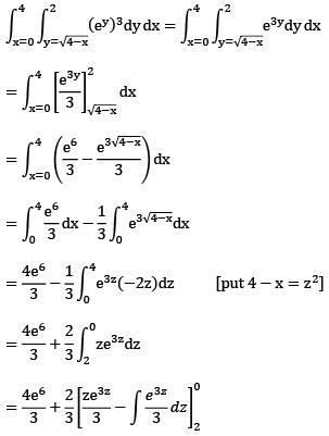 Doc - MCQ:- Calculus, Integrals, Multiple, integrals Mathematics Notes | EduRev