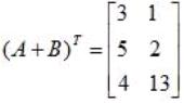 Operation on Matrices Mathematics Notes | EduRev