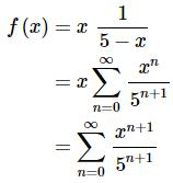 Power Series And Functions Mathematics Notes | EduRev