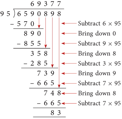 Chapter Notes: Operations on Large Numbers Class 5 Notes   EduRev