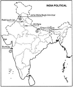 Class 12 History Solved Paper (2016 Delhi Set-I) Humanities/Arts Notes | EduRev